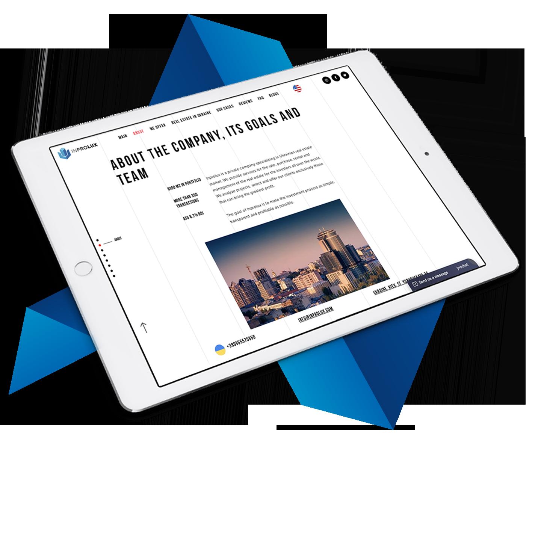 Inprolux Website